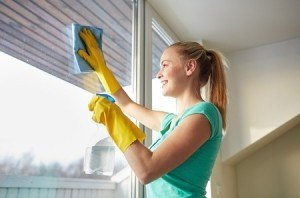 Cleaning Window Film